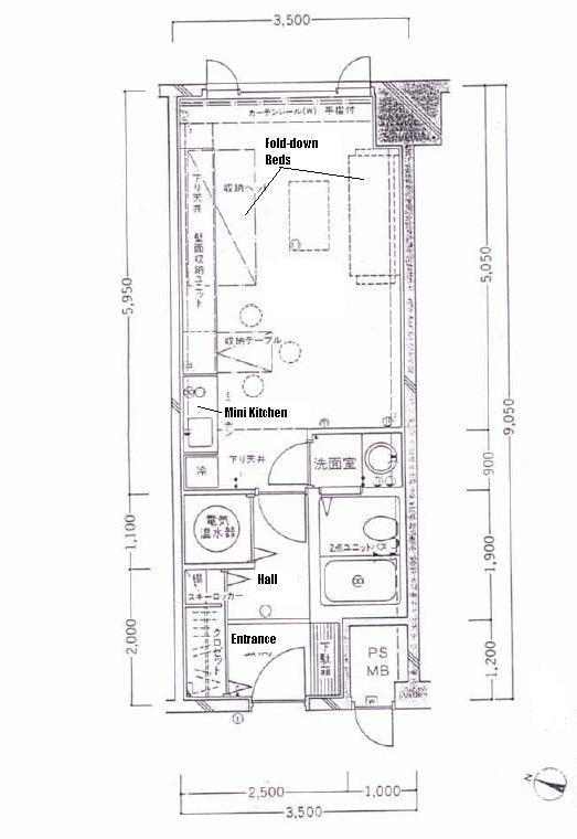 Iwappara Yuzawa floor plan - Yuzawa Real Estate