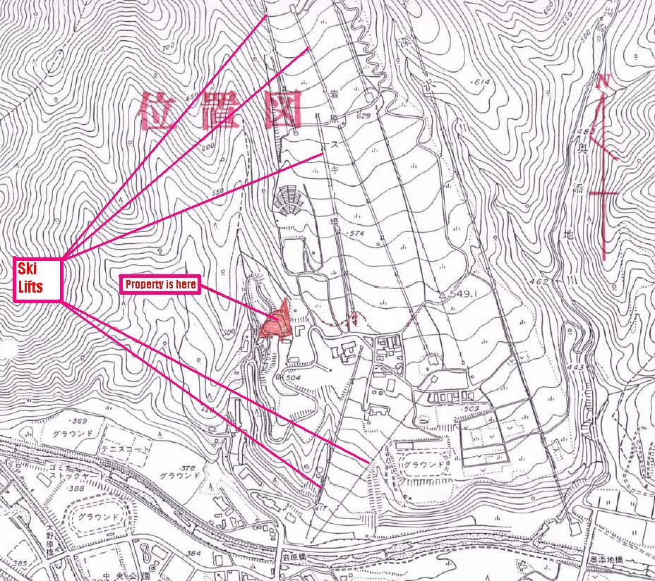 Iwappara slope map
